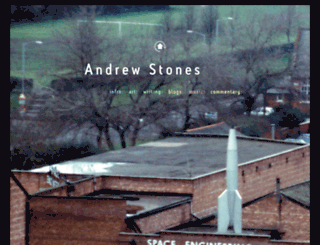 andrewstones.com screenshot