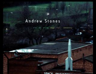 andrewstones.com screenshot