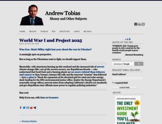 andrewtobias.com screenshot