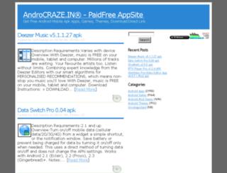 androcraze.in screenshot