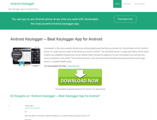 android-keylogger.net screenshot