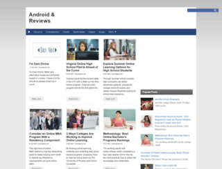 android-reviews1.blogspot.al screenshot