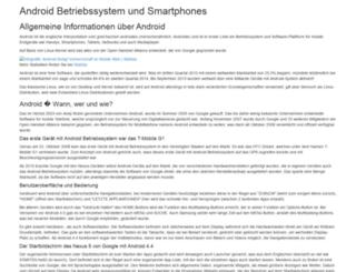 android-talk.de screenshot