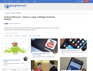 android.giorgiotave.it screenshot
