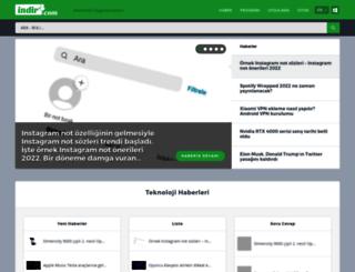 android.indir.com screenshot