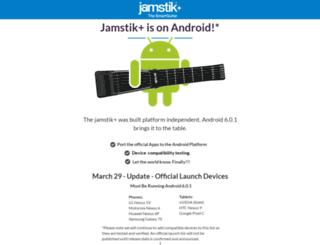 android.jamstik.com screenshot