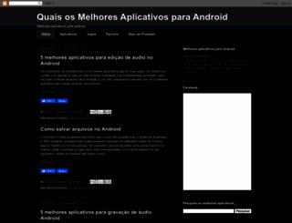 androidaplicativo.blogspot.com.br screenshot