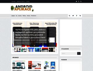 androidaplikace.cz screenshot
