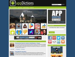 androidappdictions.com screenshot