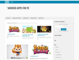 androidappsforpc.com screenshot