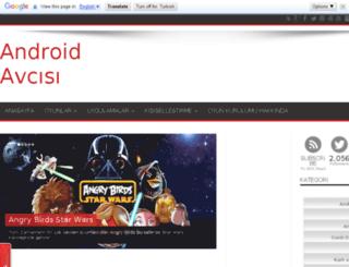 androidavcisi.blogspot.com screenshot