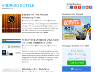 androidbottle.com screenshot