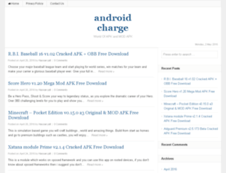 androidcharge.com screenshot