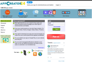 androidcreator.com screenshot