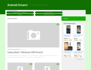 androiddrivers.net screenshot