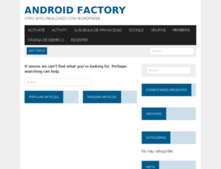 androidfactory.net screenshot