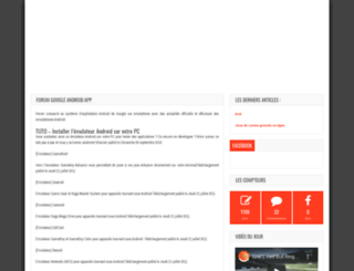 androidgen.fr screenshot