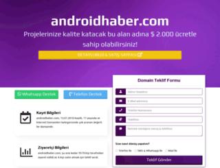 androidhaber.com screenshot