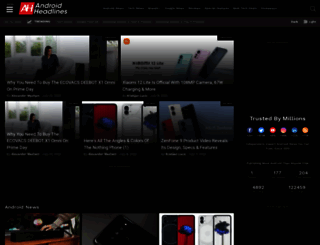androidheadlines.com screenshot