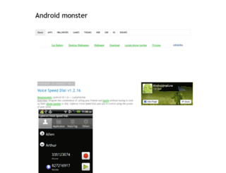 androidmonster.blogspot.com screenshot