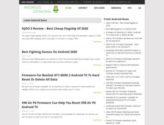 androidopinions.com screenshot