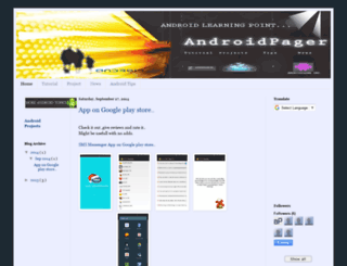 androidpager.blogspot.in screenshot