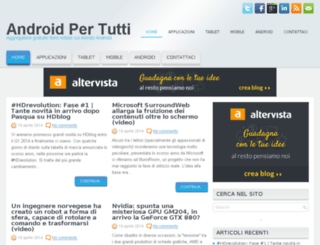 androidpertutti.altervista.org screenshot