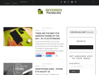 androidphoneguides.com screenshot