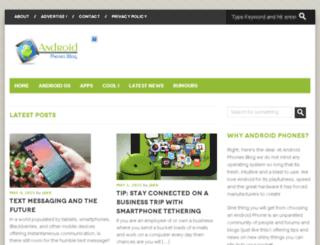 androidphonesblog.net screenshot