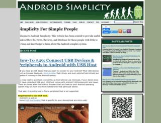 androidsim.net screenshot
