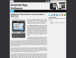 androidspy-software.blogspot.com screenshot