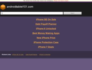 androidtablet101.com screenshot