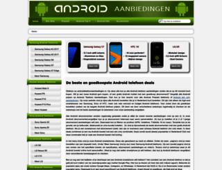 androidtelefoonaanbiedingen.nl screenshot