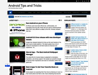 androidtipsandtricks.com screenshot