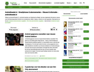 androidtoestel.nl screenshot