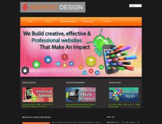 androidwebdesign.iwopop.com screenshot