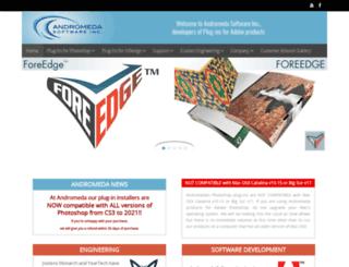 andromeda.com screenshot