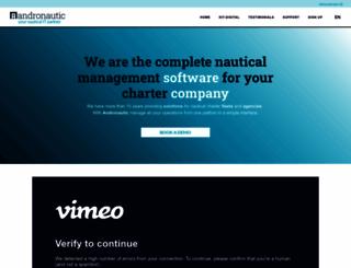 andronautic.com screenshot