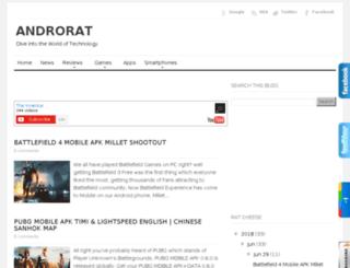 androrat.com screenshot