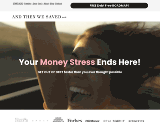 andthenshesaved.com screenshot