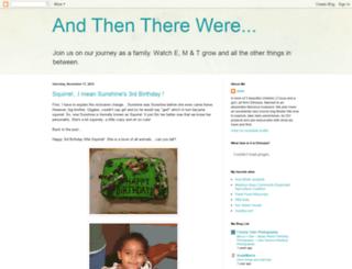andthentherewere.blogspot.com screenshot