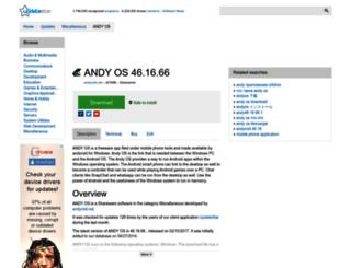 andy-os.updatestar.com screenshot