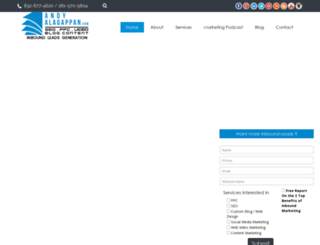 andyalagappan.com screenshot