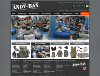 andyandbax.com screenshot