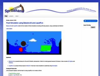 andybeaulieu.com screenshot