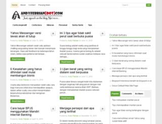 andyfebrian.com screenshot