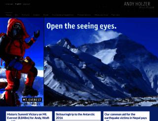 andyholzer.com screenshot