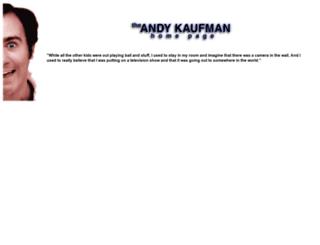 andykaufman.jvlnet.com screenshot