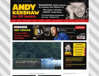 andykershaw.co.uk screenshot