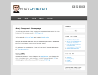 andylangton.co.uk screenshot